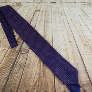 Brioni Purple Silk Tie